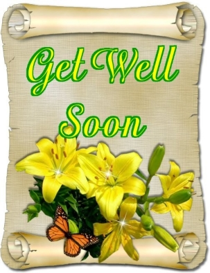 Get Well Soon ♥ 4 Comment