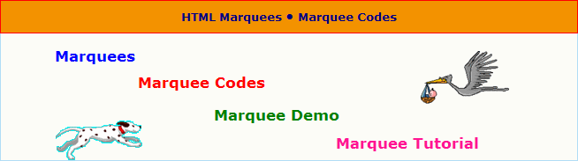 Marquee Codes tutorials